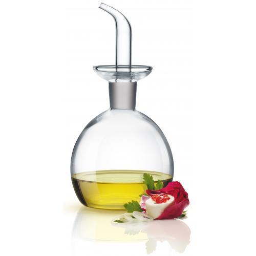 Giannini, Ölkännchen 500 ml, Glas, Faßform