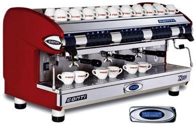 conti xeos gastronomie espressomaschine 4 gruppen. Black Bedroom Furniture Sets. Home Design Ideas