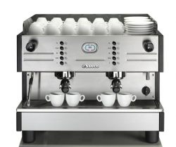 SAECO Steel SE 200 Espressomaschine 2 Gruppen