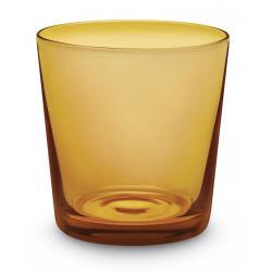 Mundgeblasenes Wasserglas 6er-Set Amber Giannini