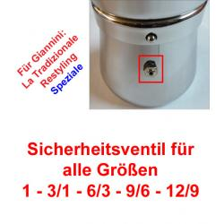 1x Sicherheitsventil Espressokocher Giannini