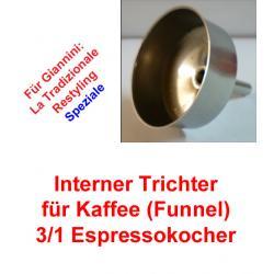 1x Trichter (Funnel) 3/1 Espressokocher Giannini